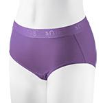 小清新動能內著-紫色中腰-2件