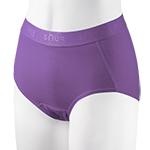 小清新動能內著-紫色高腰-2件
